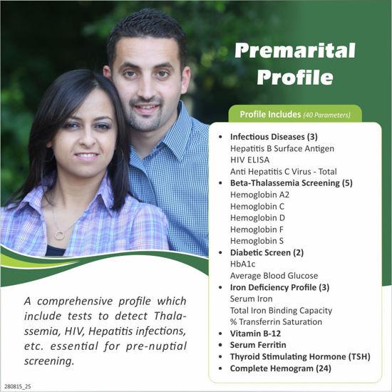 PREMARITAL PROFILE