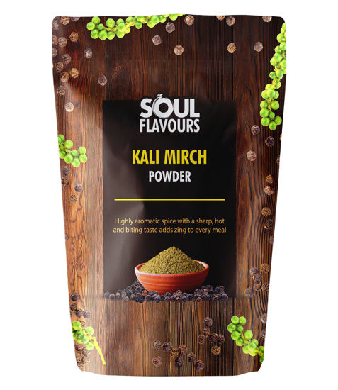 Picture of SOUL FLAVOURS KALI MIRCH POWDER (100G)