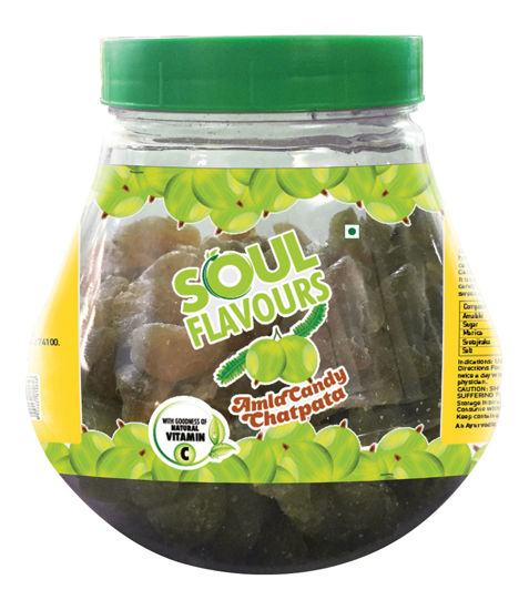 Picture of SOUL FLAVOURS CHATPATA AMLA CANDY (500G)