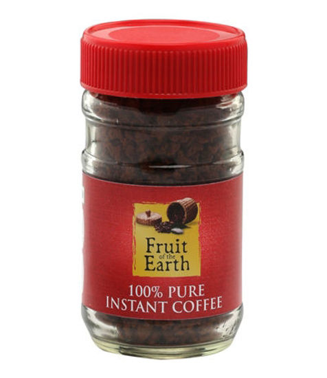 Picture of FRUIT OF THE EARTH 100% PURE INSTANT COFFEE (50G)