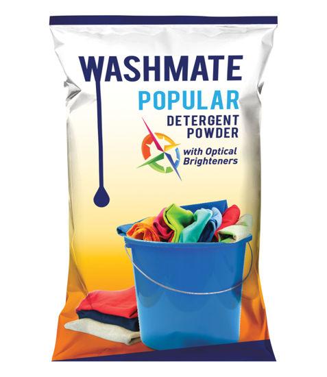 Picture of WASHMATE POPULAR DETERGENT POWDER (1 KG)