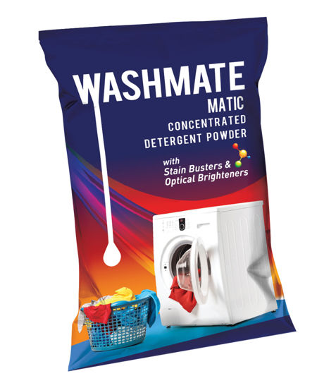 Picture of WASHMATE MATIC CONCENTRATED DETERGENT POWDER (500 G)