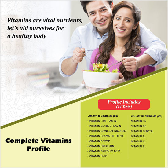 COMPLETE VITAMINS PROFILE