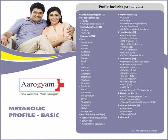 METABOLIC PROFILE BASIC